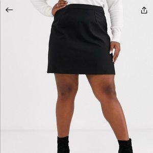 ASOS Curve A-Line Mini Skirt